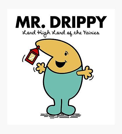 Mr. Drippy Photographic Print