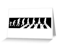 The Beatles - Evolution #9 (White) Greeting Card