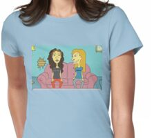 Beavis & Butthead - 'We're Chicks' Womens Fitted T-Shirt