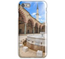 Old Mosque (Eski Camii) Edirne, Turkey iPhone Case/Skin