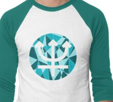 Neptune Symbol Men's Baseball ¾ T-Shirt