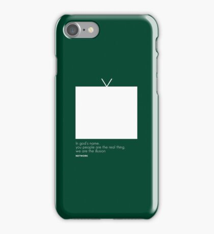 Network Movie Quote iPhone Case/Skin