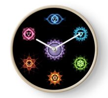 Chakras Clock