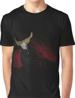 Gold Horned Reaper Graphic T-Shirt