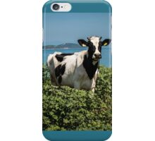 """Spotted Cow by the Sea """"Sea Cow"""" iPhone Case/Skin"""