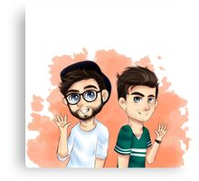 THE CHAINSMOKERS Canvas Print