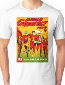 America's Best Comics no.1 Golden Age Fawcett Heroes Unisex T-Shirt
