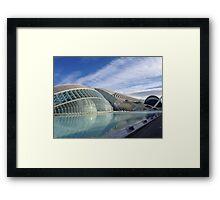 Valencia City of Arts and Sciences Framed Print