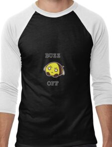 BUUUZZZzzz OFF! Bee Men's Baseball ¾ T-Shirt