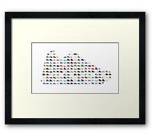 Sneaker's sneaker Framed Print