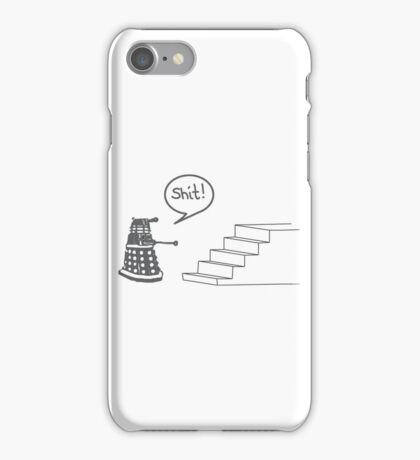 Shit Dalek iPhone Case/Skin