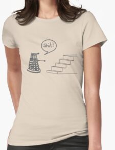 Shit Dalek Womens Fitted T-Shirt