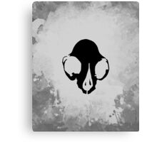 Crux (Black) Canvas Print