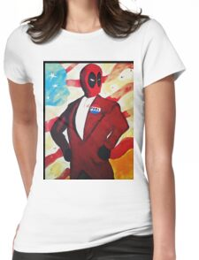 President Pool Womens Fitted T-Shirt
