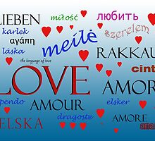 Love in many languages by daysray
