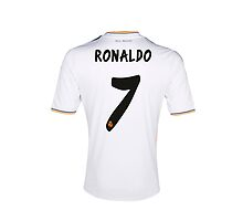 ronaldo t shirt by davhid