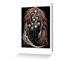 The Gravelord v.2 Greeting Card
