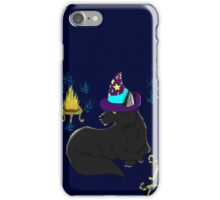 Magic Black Cat! iPhone Case/Skin