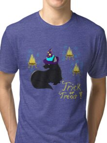 Magic Black Cat! Tri-blend T-Shirt