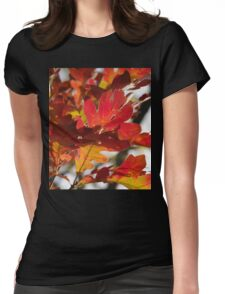 Oak Glow - Autumn Colors Womens Fitted T-Shirt
