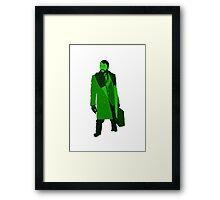 """Shades of green"" (Fargo, Lorne Malvo)  Framed Print"