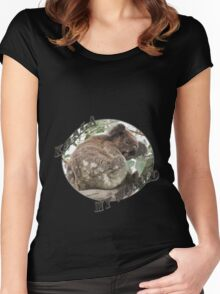 koala my world Women's Fitted Scoop T-Shirt