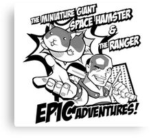 Epic Adventures! Canvas Print