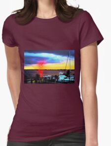 Sunset at the Docks T-Shirt