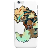 Fighting Arcanine  iPhone Case/Skin