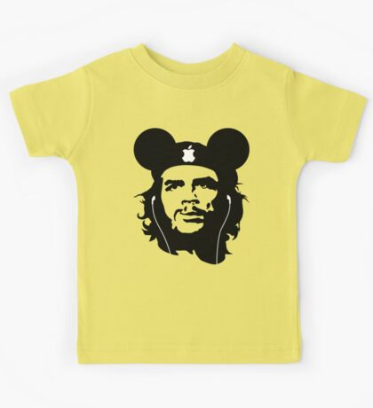 True Che Guevara - Socialist with iphone Kids Tee