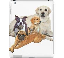 Dog posse with lab iPad Case/Skin