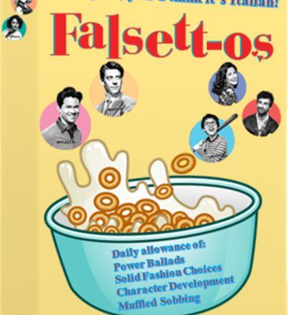 Falsettos Cereal Sticker Sticker