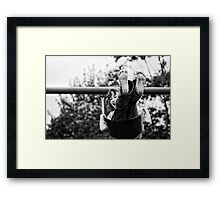 Swing Time Framed Print
