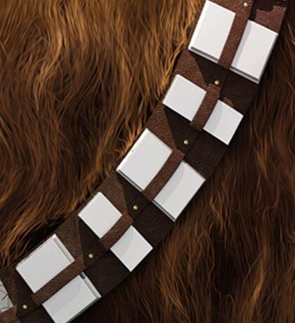 Chewbacca Utility Belt Sticker