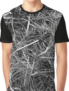 metal line Graphic T-Shirt