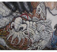 Graffiti Dragon Photographic Print