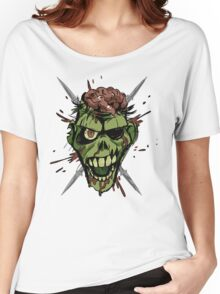 zombie graphic Women's Relaxed Fit T-Shirt