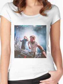 THE CHAINSMOKERS Women's Fitted Scoop T-Shirt