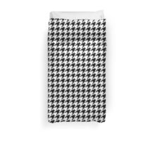 Houndstooth Pixel Gamer – Duvet Covers Duvet Cover
