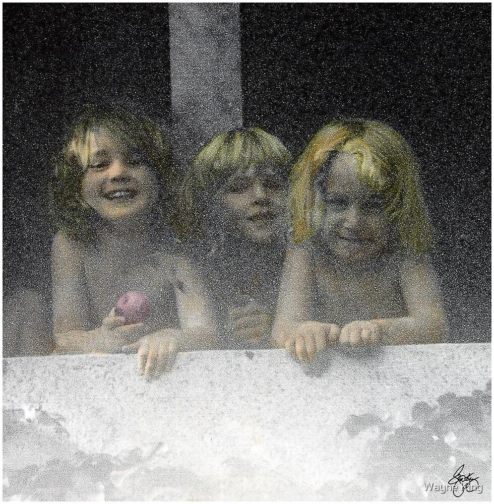 Daycare Kids by Wayne King