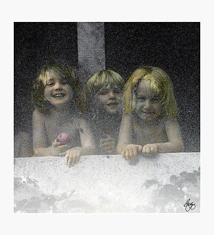 Daycare Kids Photographic Print