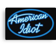american idol parody Canvas Print