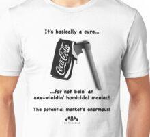 It's A Cure (B&W Axe) Unisex T-Shirt
