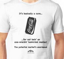 It's A Cure B&W Unisex T-Shirt