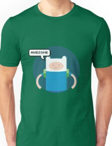 Finn the Awesome Human Unisex T-Shirt