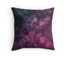 Purple blue abstract pattern .  Throw Pillow