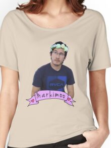 Markiplier (Level: Flower crown) Women's Relaxed Fit T-Shirt