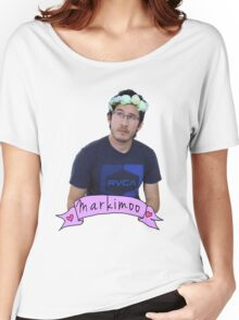 Markiplier (Level: Flower crown) Women's Relaxed Fit T-Shirt