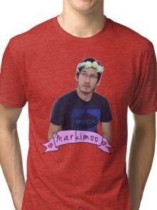 Markiplier (Level: Flower crown) Tri-blend T-Shirt