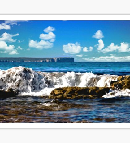 Hyams Beach 37 Sticker
